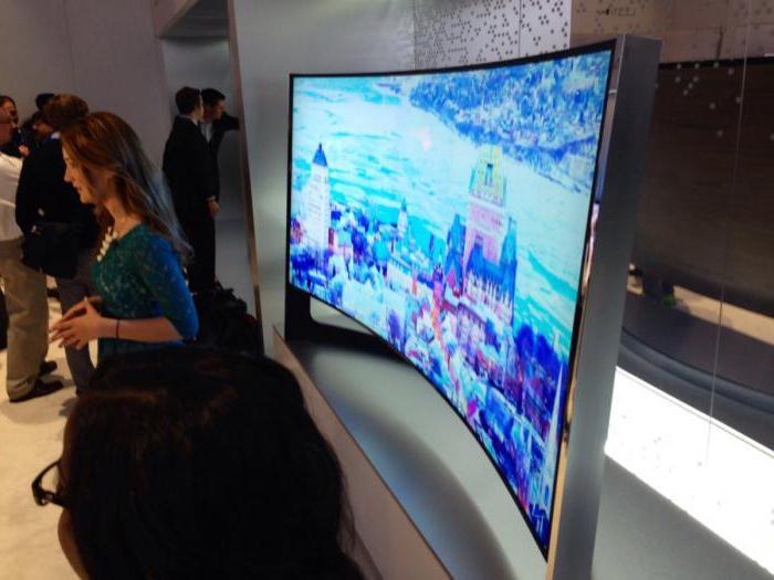 преимущество изогнутого экрана телевизора