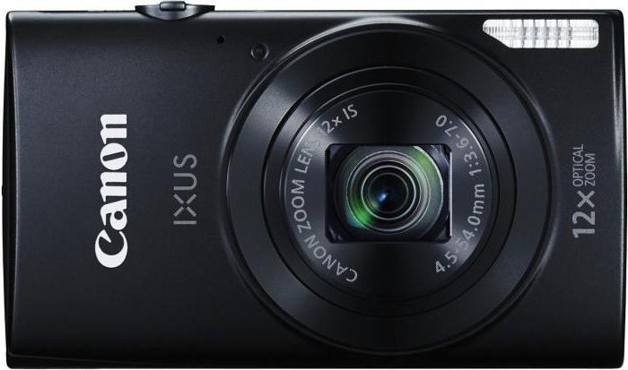 Цифровой фотоаппарат Canon IXUS 170: описание, технические характеристики, отзывы