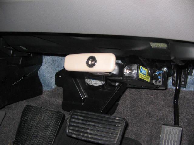 механические противоугонные устройства для автомобилей на педали