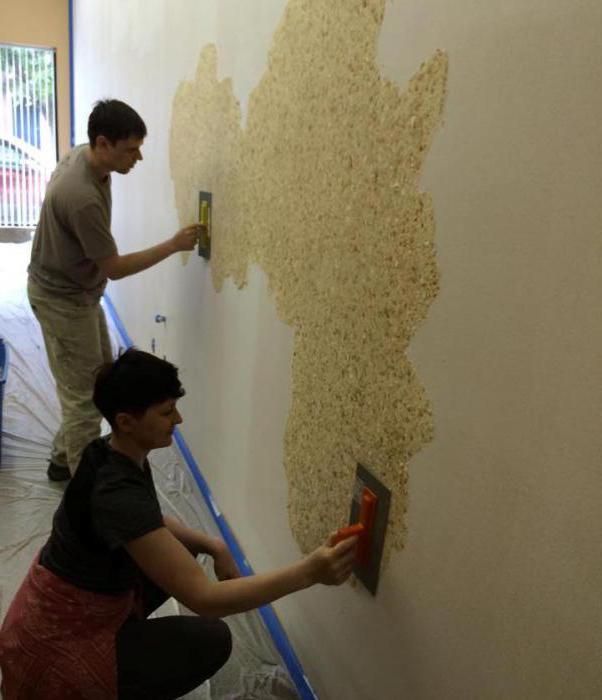 подготовка стен под жидкие обои силк пластер