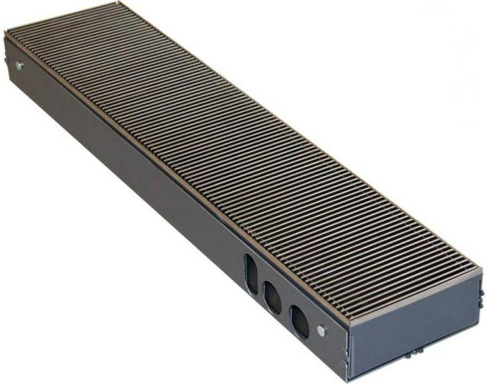 напольный радиатор