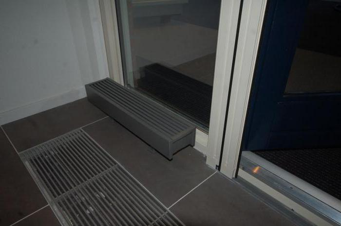 радиатор напольный водяной