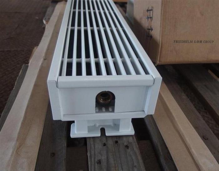 встроенные напольные радиаторы отопления