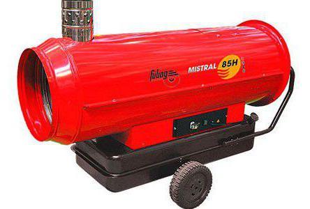 ремонт тепловой пушки на дизельном топливе