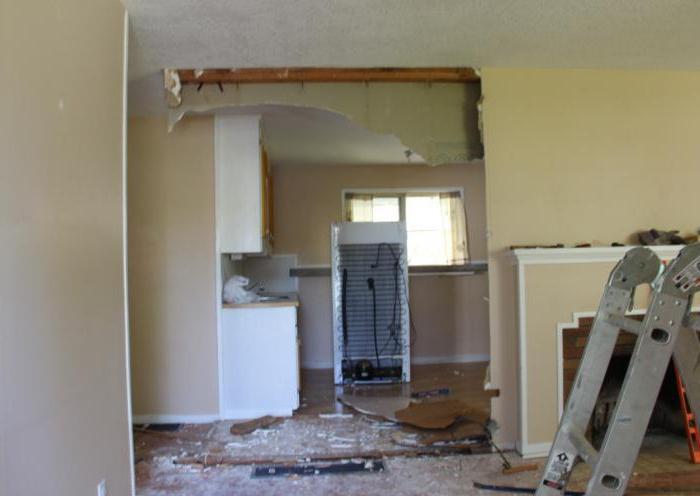 виды переустройства и перепланировки жилого помещения