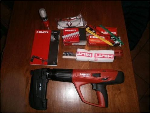 dx 76 пороховой монтажный пистолет