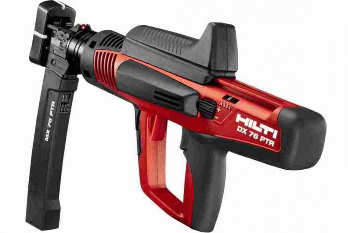 строительные монтажные пистолеты пороховые