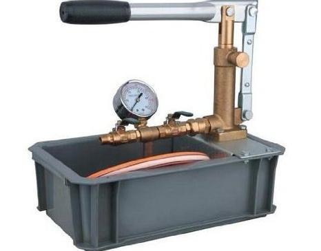 самодельный насос для опрессовки систем отопления