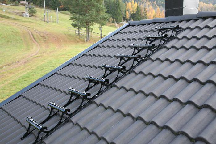 Trap op het dak