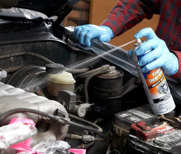 Очиститель двигателя. Как помыть двигатель? Автохимия