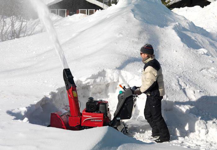 снегоуборщик гусеничный