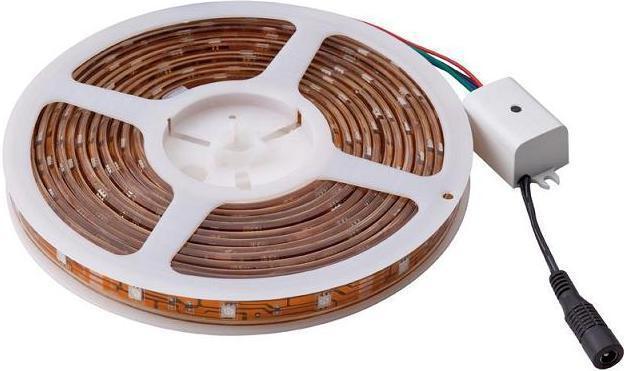 как подключить многоцветную светодиодную ленту