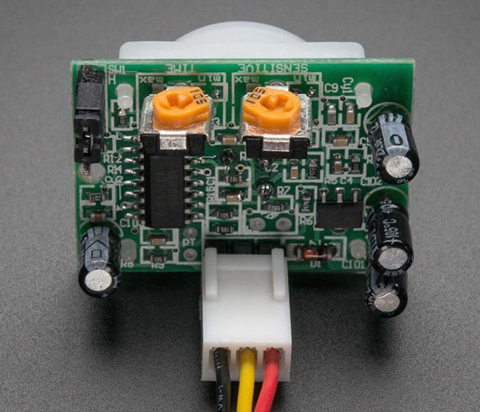 pir датчик arduino