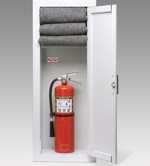 где должен располагаться огнетушитель использование