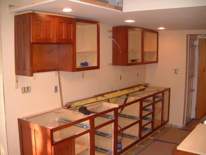 установка духового шкафа в кухонный гарнитур