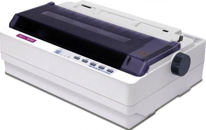матричные принтеры принцип работы