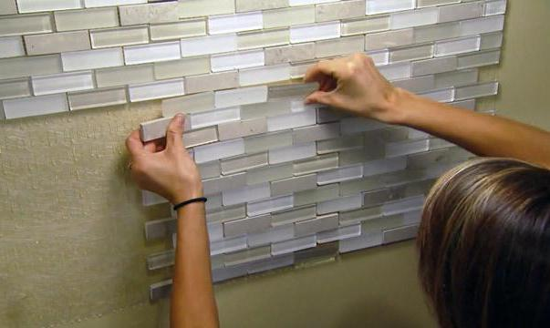 Размеры мозаики на сетке