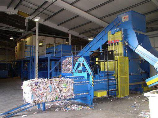 Переработка мусора пластика