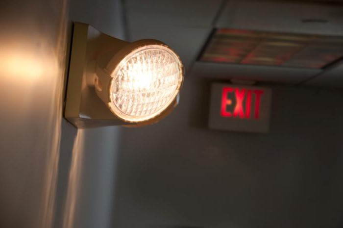 монтаж наружного освещения