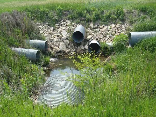 система ливневой канализации монтаж