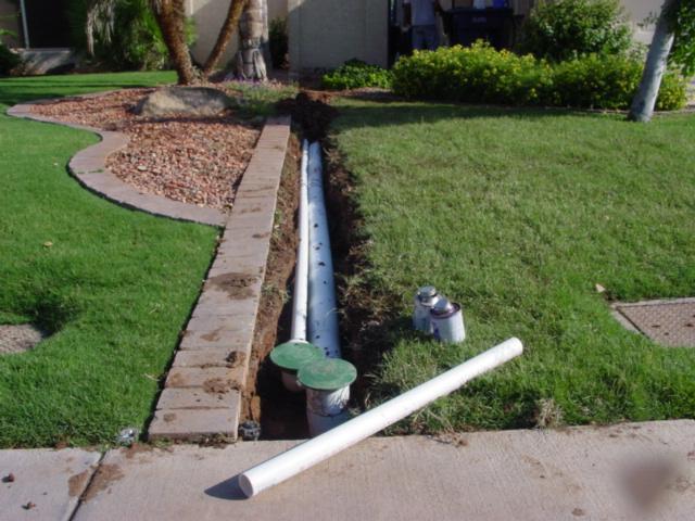 система дренажа и ливневой канализации на участке