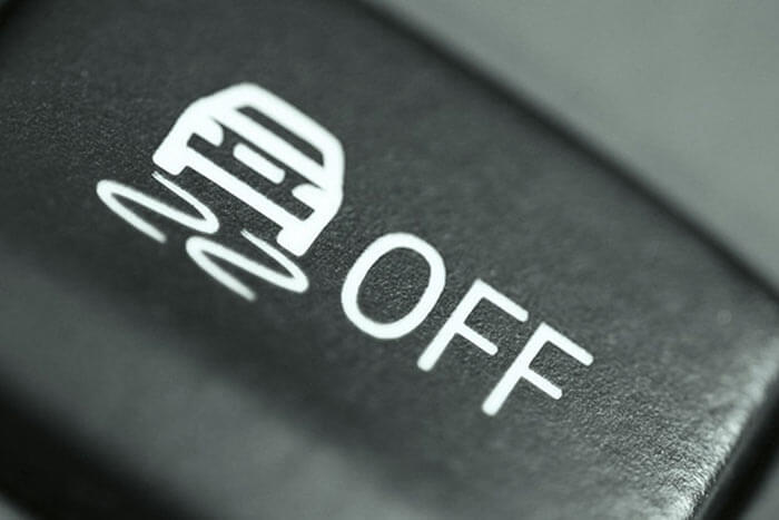 Кнопка отключения курсовой устойчивости