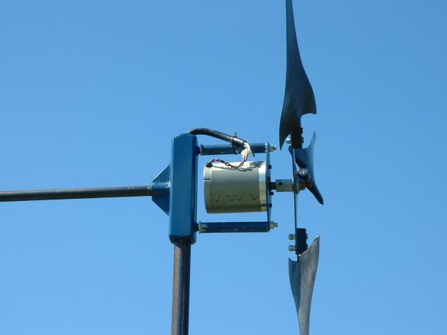 Homemade Wind Turbine Engine