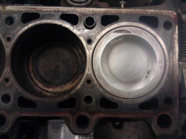 Действие промывки двигателя Liqui Moly