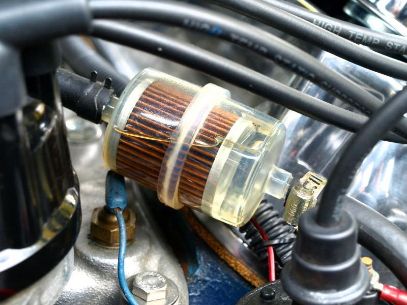 Проверка топливного фильтра