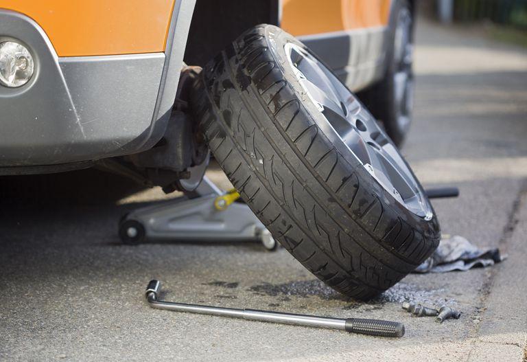 Подъем кузова за счет замены колес