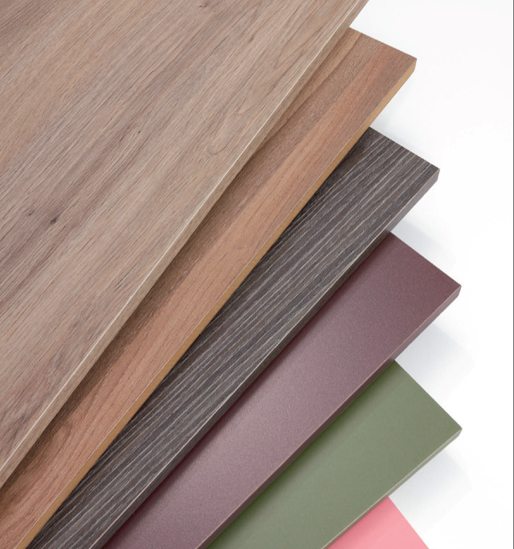 A selection of laminated panels for the home
