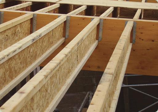 I-beam floor structure