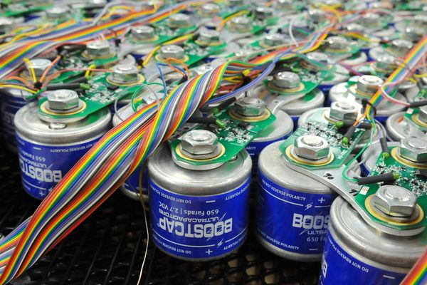 Суперконденсаторные батареи