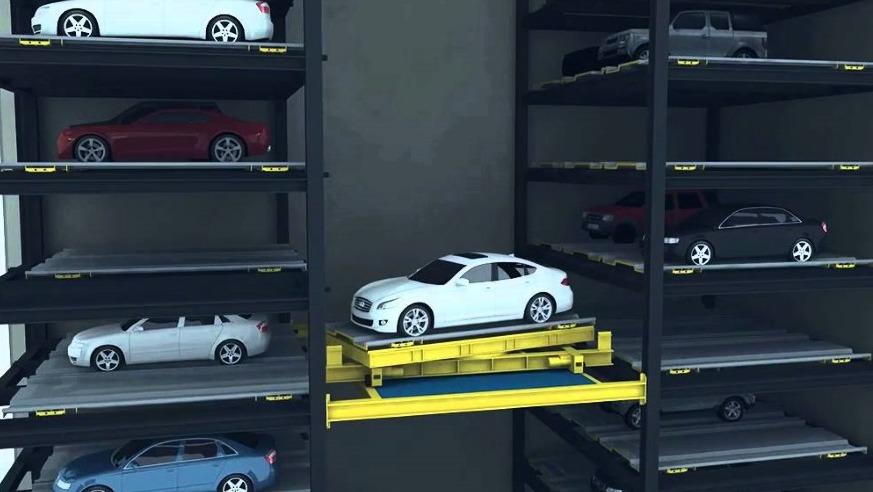 Интеллектуальная система парковки