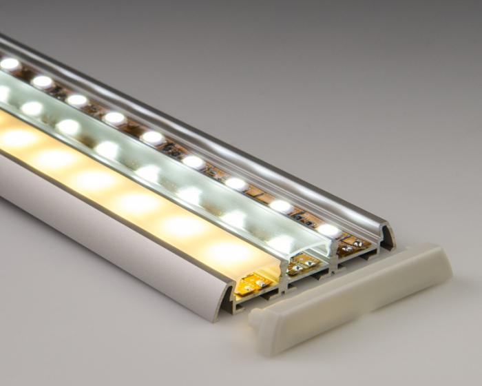 пластиковый профиль для светодиодной ленты