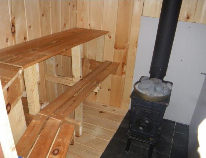 как сделать водяной теплый пол в бани