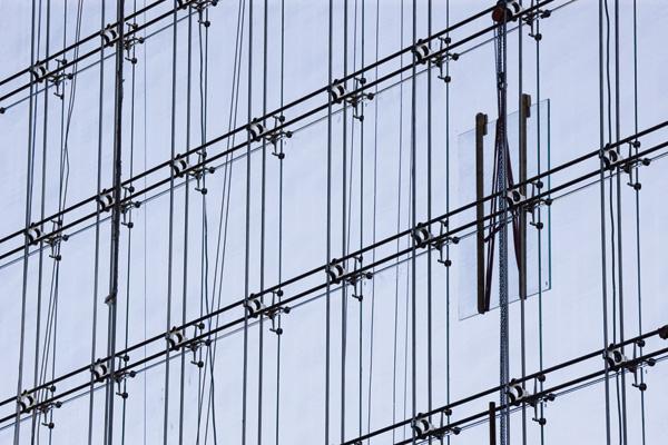 структурное остекление фасадов