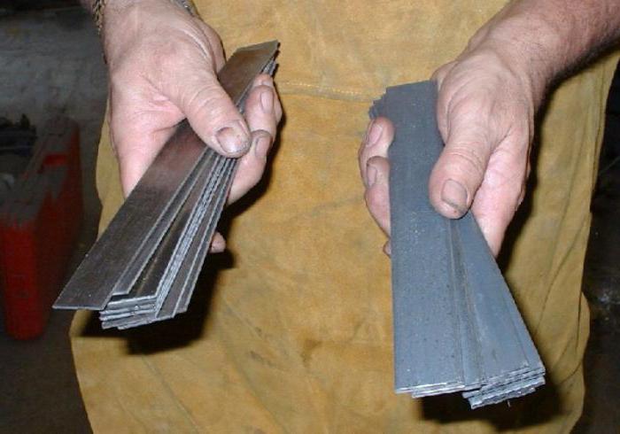 ножи из булатной стали ручной работы