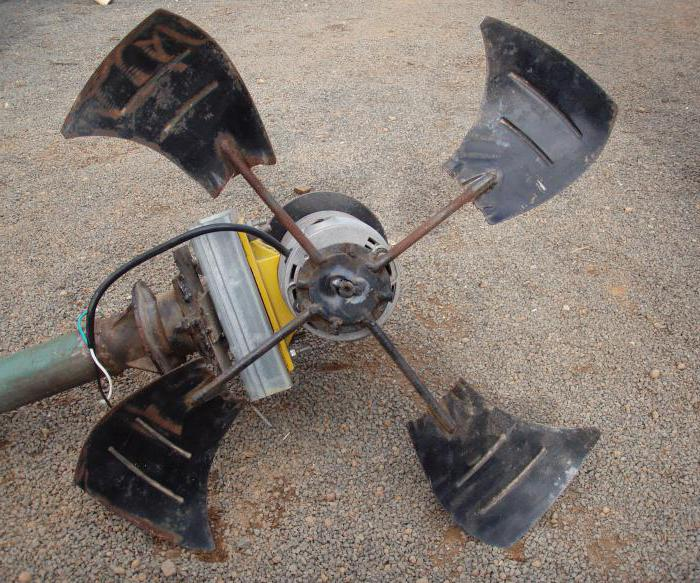 самодельный ветряк из автомобильного генератора