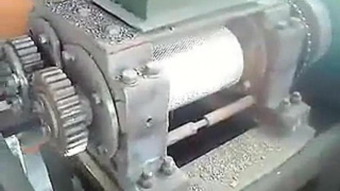 шнековый гранулятор