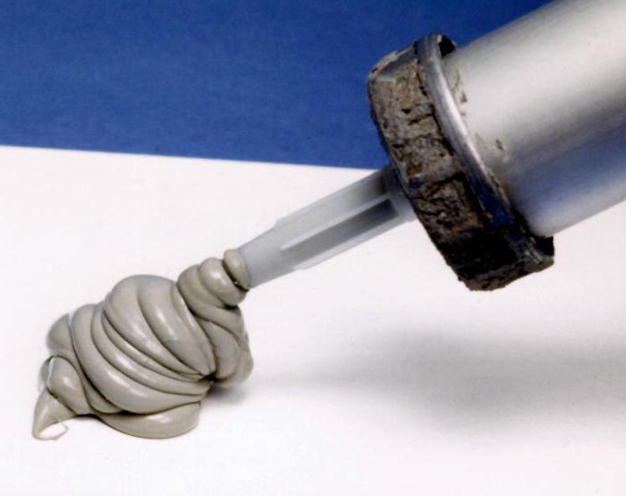 бесцветный силиконовый герметик