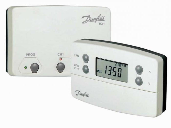 Danfoss терморегуляторы инструкция