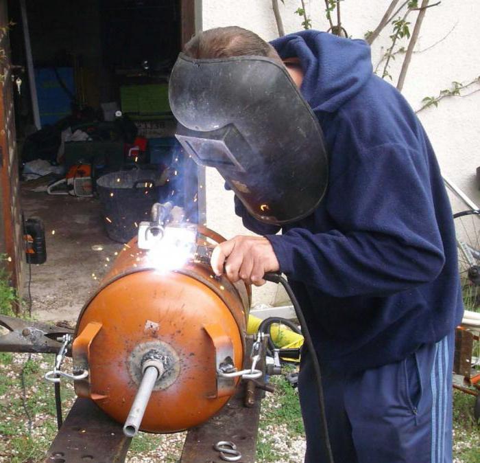 печка из газового баллона своими руками на отработке