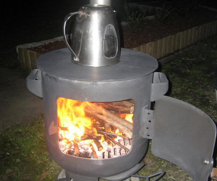 печка из газового баллона своими руками длительного горения