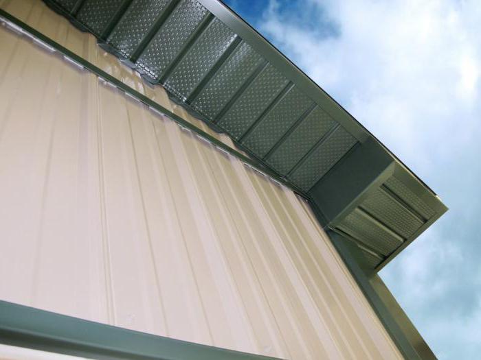 Софит для подшивки крыши