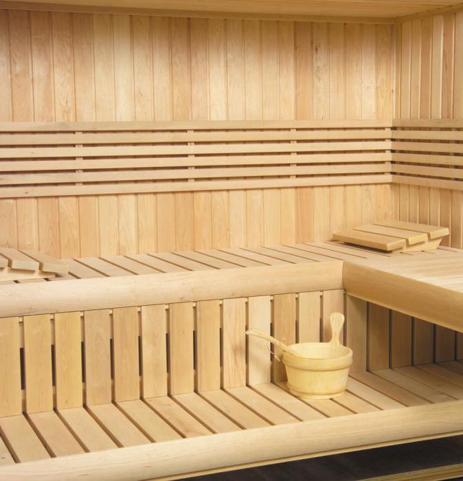 Обработка вагонки внутри бани