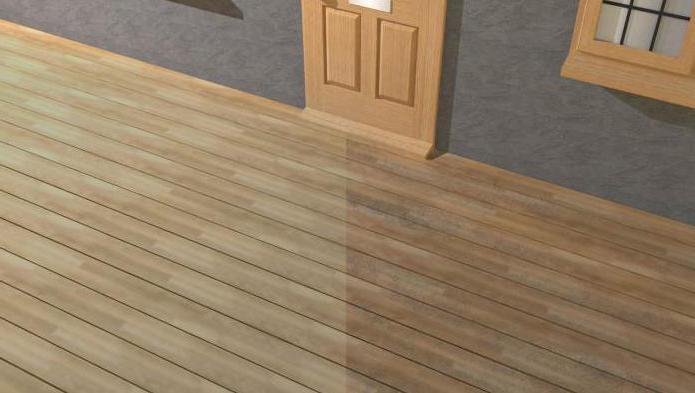 отбеливание древесины