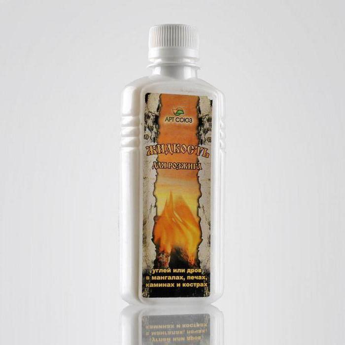 жидкость для розжига состав