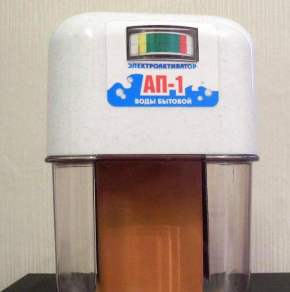 Активатор воды АП-1: технические характеристики, руководство по эксплуатации. Живая, мертвая вода