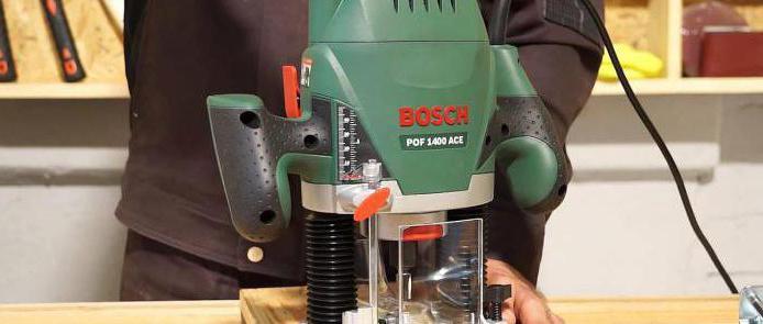 фрезер электрический bosch pof 1400 ace